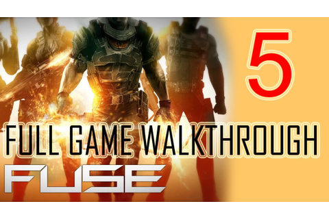 Fuse Gameplay Walkthrough Part 5 Let's play HD Fuse Game ...