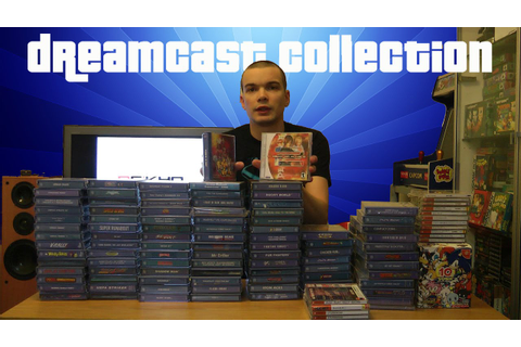 My Dreamcast collection - YouTube