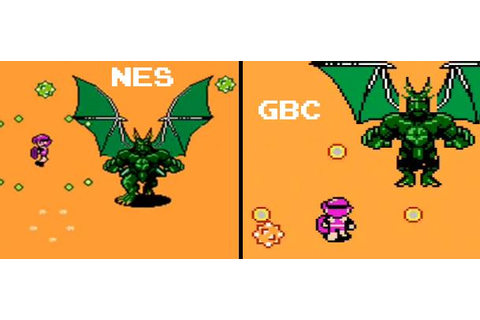 Crystalis: NES vs. GBC – GameCola