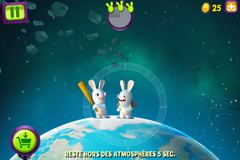 Test jeu iPhone / iPad de The Lapins Crétins : Big Bang ...