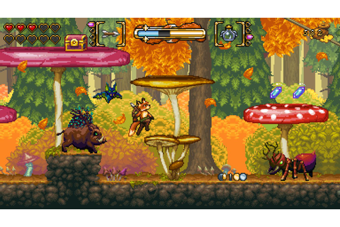 2D action platformer FOX n FORESTS now available on Xbox ...