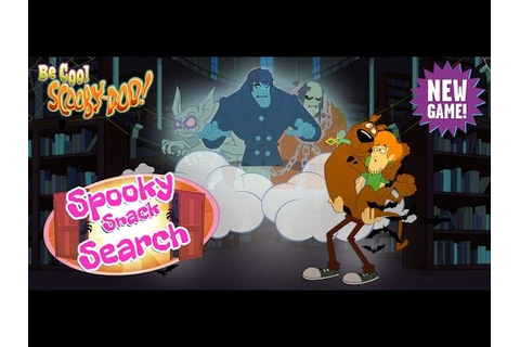 Be Cool Scooby Doo Spooky Snack Search New Cartoon Network ...