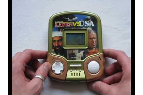 PIXELKITSCH presents LADEN VS USA LCD GAME - YouTube