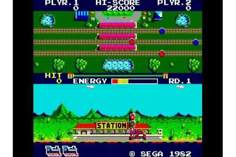 Game of the day 793 Super Locomotive (スーパーロコモーティブ) 1982 ...