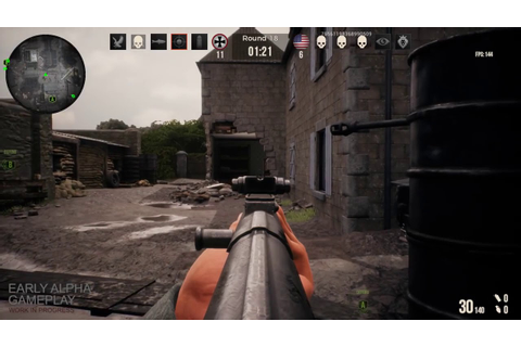 Battalion 1944 (New Alpha 0.6 Gameplay Footage) WW2 FPS ...