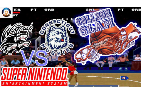 College Slam | Super Nintendo Gameplay - YouTube