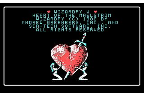 Wizardry V: Heart of the Maelstrom Download (1988 Role ...