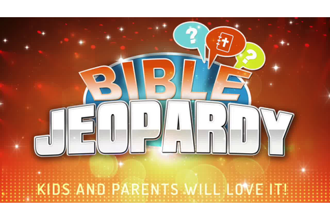 Bible Jeopardy Game [PRINTABLE] - YouTube