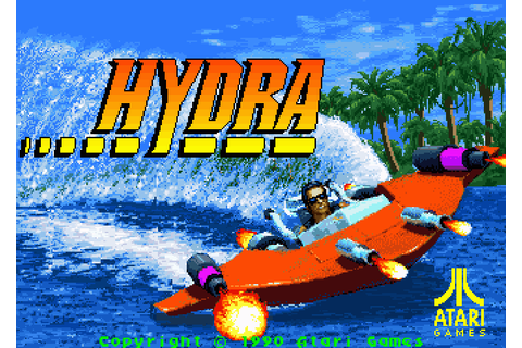 Hydra (1990) by Atari Arcade game
