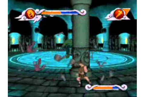Disney's Hercules Action Game - Level 6: Medusa's Lair ...