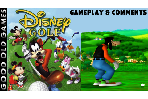 Disney Golf Gameplay & Comments HD PS2 - YouTube