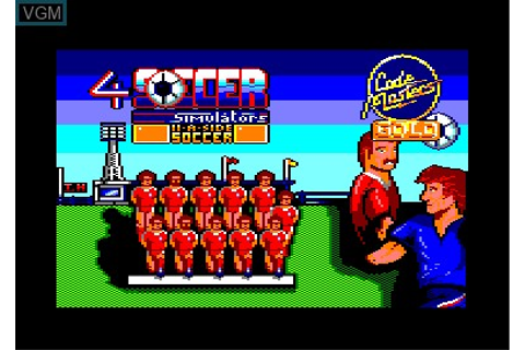 4 Soccer Simulators for Amstrad CPC - The Video Games Museum