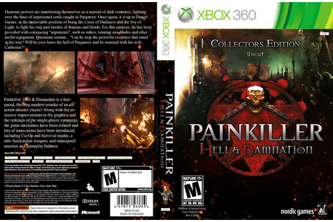 Games Covers: Painkiller Hell & Damnation - Xbox 360