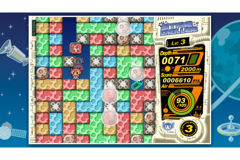 New Games: MR DRILLER - DRILL LAND (PC, Switch) - Puzzle ...