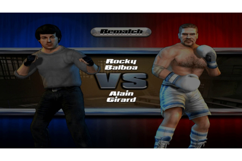 Rocky Legends - Play as Rocky in Street Fight Attire - YouTube