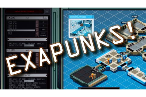 EXAPUNKS | New Zachtronics Hacking Game! - YouTube