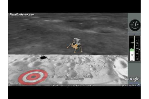 Apollo 11 Moon Lander Game - YouTube