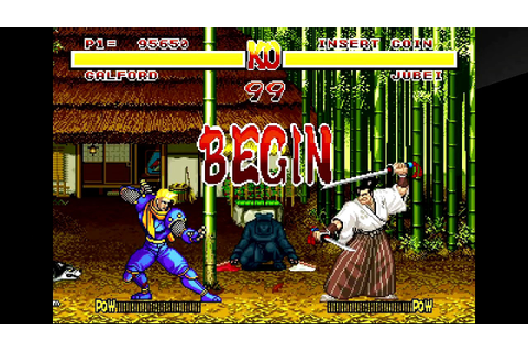 Samurai Shodown (PlayStation 4) Arcade as Galford | Doovi