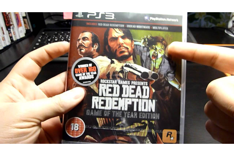 Red Dead Redemption - Game of The Year Edition Unboxing ...