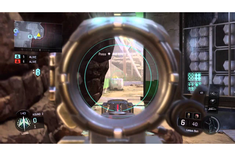 Bo3 locus sniping game play - YouTube