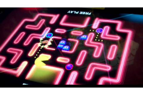 Pac Man Battle Royale - New 4 Player Pac-Man Video Arcade ...