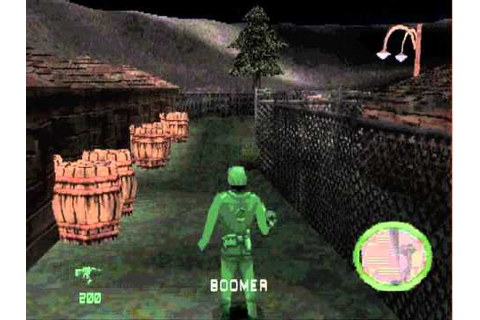 Army Men World War Team Assault PS1 - Level 1 Secret - YouTube