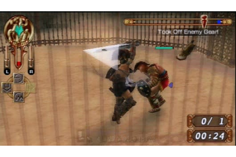 Gladiator Begins fighting for North American PSP audience