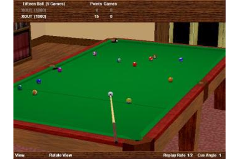 Screens: Virtual Pool Hall & Power Boat Racing - PC (1 of 8)