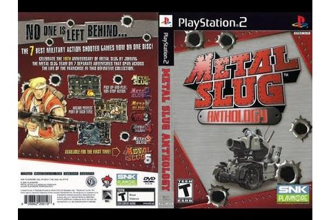Metal Slug Anthology Playstation 2 Lets play Metal Slug 3 ...