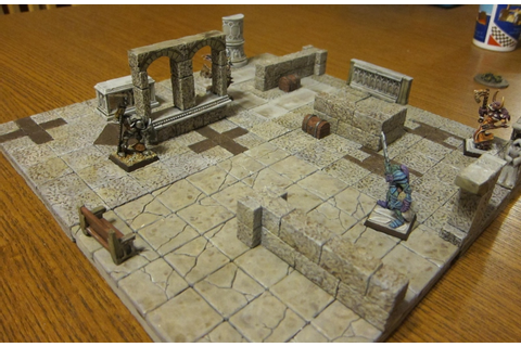 D & D Game Board | Chicago Terrain Factory