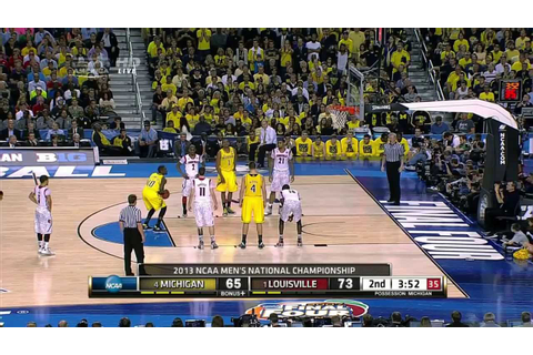 Louisville vs Michigan 2013 NCAA Basketball Championship ...