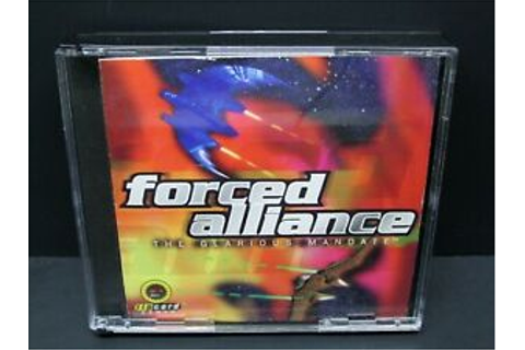 Forced Alliance: The Glarious Mandate, PC, CD-ROM, Windows ...