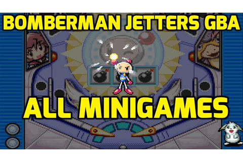 Bomberman Jetters Game Collection (GBA) - All Minigames ...