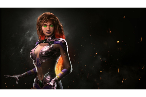Starfire Joins The Injustice 2 Roster Next Month as the ...