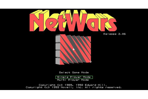 NetWars Download (1993 Arcade action Game)