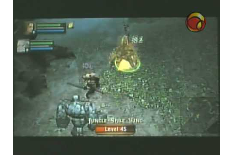 Dungeon Siege Throne of Agony PSP - YouTube