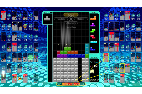 Tetris 99 - Screenshots