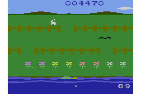 Game review: #Starpath's Rabbit Transit for #Atari 2600 ...