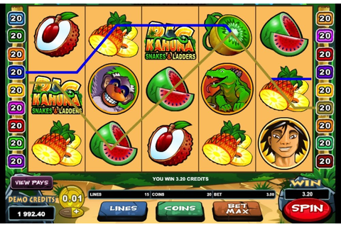 Big Kahuna Snakes & Ladders Slot Machine Review 2020