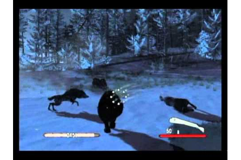 Cabela's Dangerous Hunts 2011 Game Play - YouTube