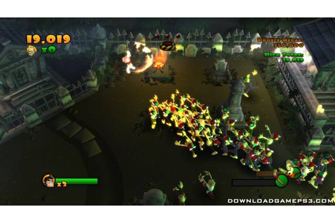 Burn Zombie Burn PSN - Download game PS3 PS4 RPCS3 PC free