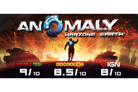 Anomaly: Warzone Earth on Steam