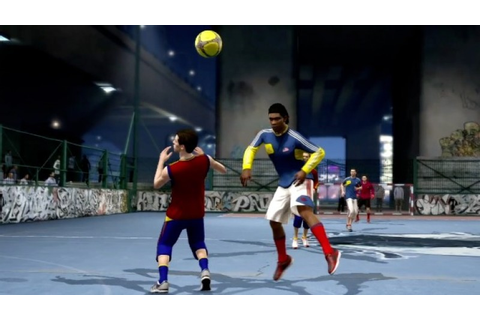 The Moves Of FIFA Street - Game Informer