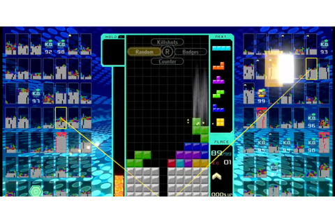 Tetris 99 takes the puzzle game classic to the battle ...