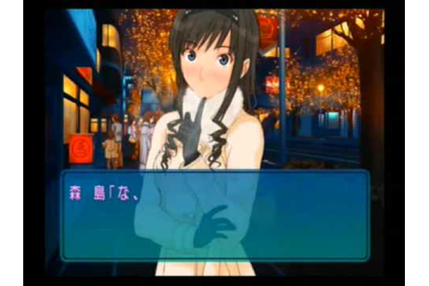Amagami Ps2 Game Haruka Morishima Best Ending Part01 [With ...
