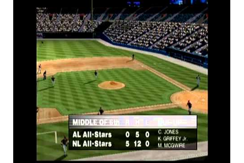 World Series Baseball 2K1 All Star Game 2/3 - YouTube