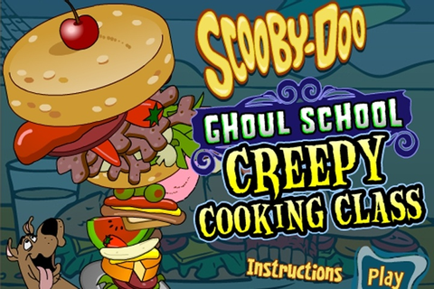 Scooby Doo Ghoul School Creepy Cooking Class Game - Scooby ...
