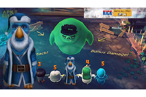 Angry birds Evolution New Grandfather Frost - YouTube