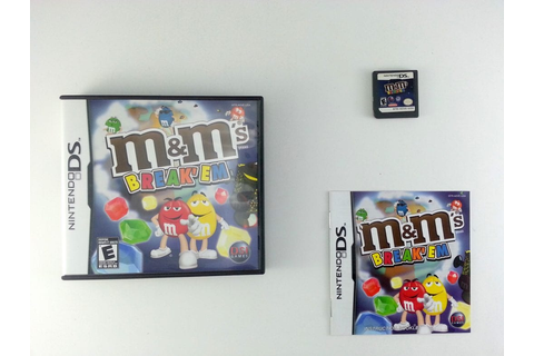 M&M's Break'Em game for Nintendo DS -Complete | eBay