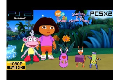 Dora The Explorer: Journey To The Purple Planet - PS2 ...